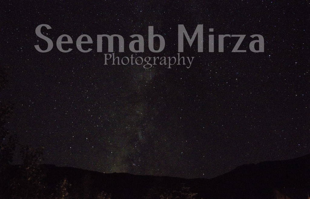 The stars in Crested Butte, Colorado